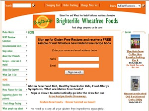 Gluten Free Flour Mixes - Brighter Life Wheatfree Foods - Ph 1300 766433